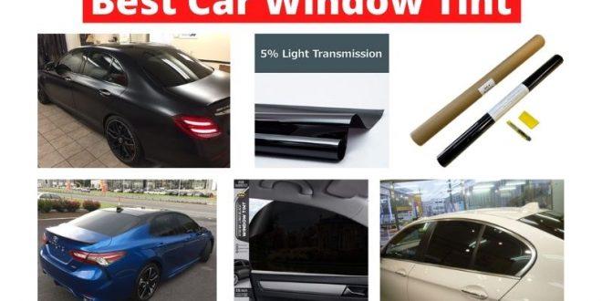 Les meilleures teintes de vitre de voiture pour une conduite élégante