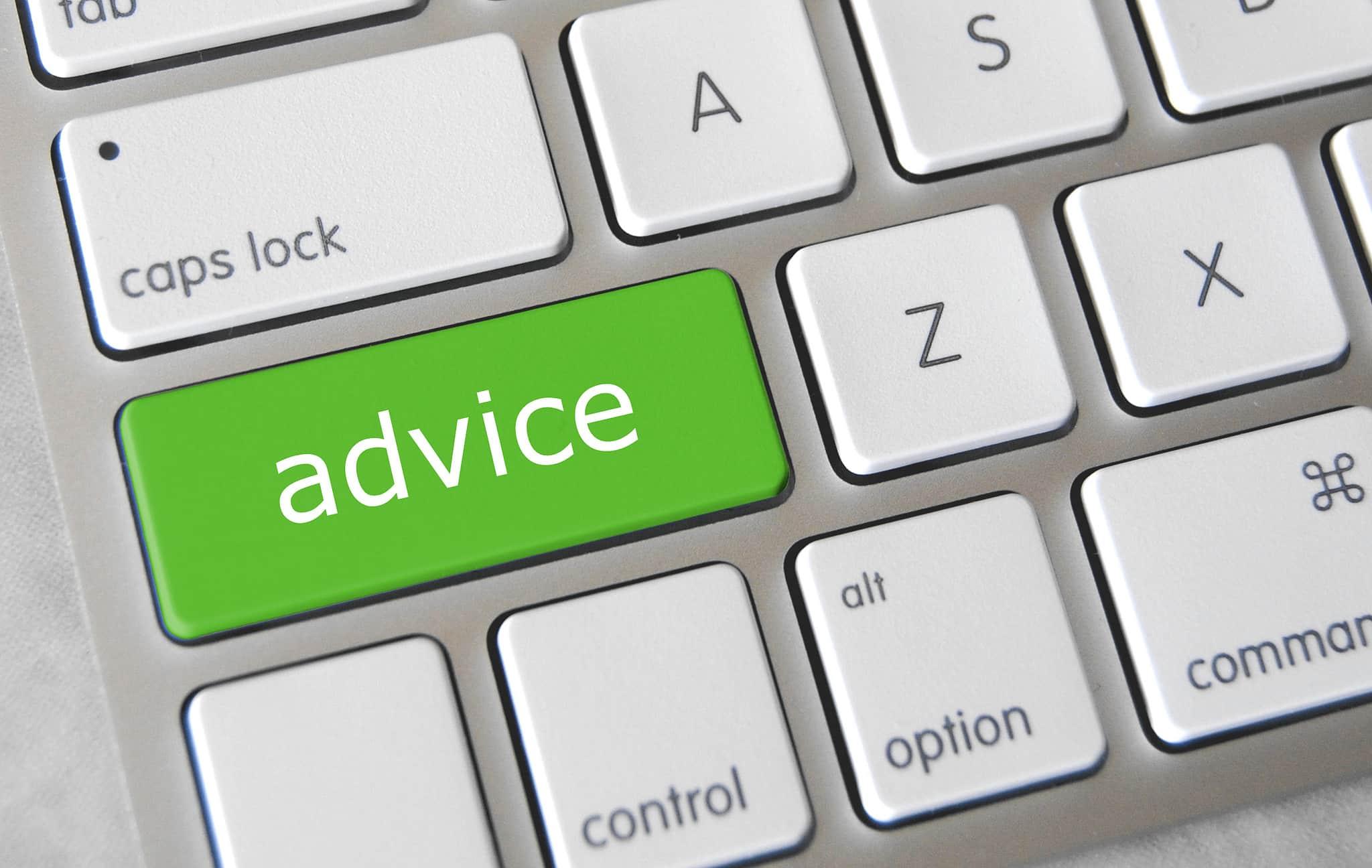 Comment puis-je obtenir de bons conseils?